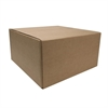 "Sparco Corrugated Shipping Carton - External Dimensions: 12"" Width x 12"" Depth x 6"" Height - Kraft - Recycled - 25 / Pack"