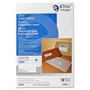 "Elite Image Shipping Laser Label - Permanent Adhesive - 2"" Width x 4"" Length - Rectangle - Laser - White - 2500 / Pack"