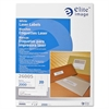 "Elite Image Mailing Laser Label - Permanent Adhesive - 1"" Width x 4"" Length - Rectangle - Laser - White - 2000 / Pack"