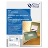 "Elite Image Address Label - Permanent Adhesive - 1"" Width x 2.62"" Length - Rectangle - Inkjet - White - 750 / Pack"