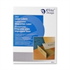 "Elite Image Clear Address Laser Label - 1"" Width x 2.75"" Length - 30 / Sheet - Rectangle - Laser - Clear - 1500 / Pack"