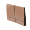 "SJ Paper Full Height Expanding Wallet - Letter - 8 1/2"" x 11"" Sheet Size - 6"" Expansion - 14 pt. Folder Thickness - Redrope - Recycled - 1 Each"