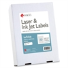 "MACO White Laser/Ink Jet Return Address Label - Permanent Adhesive - 0.50"" Width x 1.75"" Length - 80 / Sheet - Rectangle - Laser, Inkjet - White - 20000 / Box"