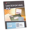"White Laser/Ink Jet Return Address Label - Permanent Adhesive - 0.50"" Width x 1.75"" Length - 80 / Sheet - Rectangle - Laser, Inkjet - White - 8000 / Box"