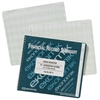 "Ekonomik Standard Size Check Registry - 8.75"" x 10"" Sheet Size - White Sheet(s) - Green Print Color - Recycled - 1 Each"
