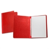 "Report Cover with Reinforced Side Hinge - Letter - 8 1/2"" x 11"" Sheet Size - Prong Fastener - 3"" Fastener Capacity for Folder - Pressguard - Executive Red - 1 Each"