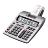 "Casio Printing Calculator - Dual Color Print - 2.4 lps - Big Display, Large Footprint, Independent Memory, Item Count, Sign Change - 12 Digits - Battery/Power Adapter Powered - 4 - AA - 2.5"" x 6.3"" x"