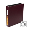 "Wilson Jones Heavy Duty DublLock D-Ring Binder - 1 1/2"" Binder Capacity - Letter - 8 1/2"" x 11"" Sheet Size - 3 x D-Ring Fastener(s) - Vinyl - Burgundy - 1 Each"