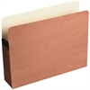 "Wilson Jones® Red Rope File Pocket - Letter - 8 1/2"" x 11"" Sheet Size - 5 1/4"" Expansion - Paper - Brown - Recycled - 1 Each"