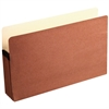 "Wilson Jones® Red Rope File Pocket - Legal - 8 1/2"" x 14"" Sheet Size - 5 1/4"" Expansion - Paper - Recycled - 1 Each"