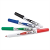 Quartet Low Odor Dry-Erase Markers - Fine Point Type - Bullet Point Style - Black, Red, Green, Blue - 4 / Set