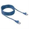 Belkin RJ45 FastCat 5 Snagless Patch Cables - Category 5e - 50 ft - 1 Pack - 1 x RJ-45 Male - 1 x RJ-45 Male - Blue