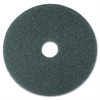 "3M Blue Cleaner Pad 5300 - 16"" Diameter - 5/Carton - Polyester Fiber, Nylon - Blue"
