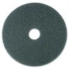 "3M Blue Cleaner Pads - 16"" Diameter - 5/Carton x 16"" Diameter - Polyester Fiber, Nylon - Blue"