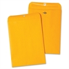 "Nature Saver Recycled Clasp Envelopes - Clasp - #90 - 9"" Width x 12"" Length - 28 lb - Clasp - Kraft - 100 / Box - Yellow"