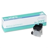 "MAX Flat Clinch Electronic Stapler Cartridge - 2000 Per Cartridge - 1/4"" Leg - 3/8"" Crown - Holds 20 Sheet(s) - for Paper - 2000 / Box"