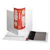 "Cardinal SpineVue EasyOpen Locking Slant-D Ring Binder - 1"" Binder Capacity - Letter - 8 1/2"" x 11"" Sheet Size - 225 Sheet Capacity - 3 x D-Ring Fastener(s) - 2 Inside Front & Back Pocket(s) - Vinyl -"