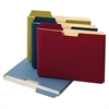 "Pendaflex 1/3 Cut Tab File Folder Pockets - Letter - 8 1/2"" x 11"" Sheet Size - 150 Sheet Capacity - 3/4"" Expansion - 1/3 Tab Cut - Assorted - 10 / Pack"