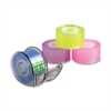 "Mini Tape With Dispenser - 3"" Core - 4 / Pack - Assorted"