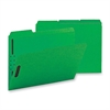 "Sparco Colored Fastener Folder - Letter - 8 1/2"" x 11"" Sheet Size - 2 Fastener(s) - 2"" Fastener Capacity for Folder - 1/3 Tab Cut - Assorted Position Tab Location - 11 pt. Folder Thickness - Green - R"