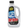 Diversey Drano Liquid Clog Remover - Liquid Solution - 0.25 gal (32 fl oz) - 1 Each