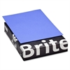 "Brite-Hue Colored Paper - Letter - 8.50"" x 11"" - 20 lb Basis Weight - Smooth - 500 / Ream - Ultra Grape"
