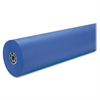 "Duo-Finish Kraft Paper - 36"" x 1000 ft - 1 / Roll - Royal Blue"