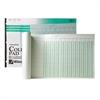 "Wilson Jones Column Write Pads - 25 Sheet(s) - Ring Binder - 16.38"" x 11"" Sheet Size - 3 x Holes - Green Sheet(s) - Brown, Green Print Color - Paper - 50 / Pad"