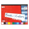 "Academie Book of Colors - 48 Piece(s) - 9"" x 12"" - 1 Each - Red, White, Orange, Yellow, Blue, Salmon, Pink, Light Blue, Green, Violet, Brown, ... - Paper"