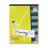 "Academie Drawing Pad - 24 Sheets - Plain - 9"" x 12"" - White Paper - 1Each"