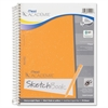 "Mead Academie Sketch Diary - 70 Sheets - Plain - Wire Bound - 8.50"" x 11"" - White Paper - 1Each"