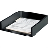 "Fellowes Designer Suites™ Letter Tray - 2.5"" Height x 11.1"" Width x 13"" Depth - Desktop - Black, Pearl - 1Each"