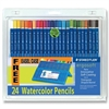 Ergosoft Watercolor Pencil - 3 mm Lead Diameter - Assorted Lead - 24 / Set