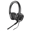 Plantronics .Audio 355 Stereo Headset - Stereo - Black - Mini-phone - Wired - 32 Ohm - 20 Hz - 20 kHz - Over-the-head - Binaural - Ear-cup - 9.84 ft Cable - Noise Cancelling Microphone