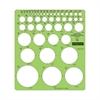 "Staedtler Combo Circle Template - Circle - 8.3""7.3"" - Green"