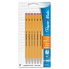 Paper Mate Sharpwriter Mechanical Pencil - 0.7 mm Lead Diameter - Yellow Barrel - 5 / Pack