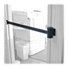 Adjusta-Tape Wall Mount Kit - 15 ft Long Black Metal