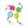 I.D. Card Reel - 4 / Pack - Assorted
