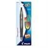Pilot G6 Gel Pen - Fine Point Type - 0.7 mm Point Size - Refillable - Black Gel-based Ink - Black Rubber Barrel - 1 Each