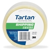 "Tartan Tartan General Purpose Shipping Packing Tape - 1.88"" Width x 109.30 yd Length - 3"" Core - Synthetic Rubber Resin - 1.20 mil - Split Resistant, Moisture Resistant - 1 Roll - Clear"
