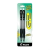 G2 Mechanical Pencils - 0.7 mm Lead Diameter - Refillable - Black, Clear Barrel - 2 / Pack