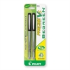 PRECISE V5 Rollerball Pen - Extra Fine Point Type - 0.5 mm Point Size - Needle Point Style - Refillable - Black - 2 / Pack