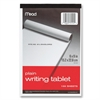 "Mead Writing Tablet - 100 Sheets - Plain - 15 lb Basis Weight - 6"" x 9"" - White Paper - 1Each"