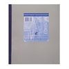"Roaring Spring Lab Notebook - 100 Sheets - Printed - Tape Bound - 15 lb Basis Weight - 9.25"" x 11"" - Gray Paper - 1Each"