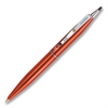Marvy St Tropez Petite Ballpoint Pen - Medium Point Type - Black - Red Barrel - 1 Each
