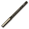 Marvy Calligraphy Marker - Medium Point Type - 3.5 mm Point Size - Black Water Based Ink - Black Barrel - 1 Each