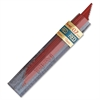 Pentel Color Lead Mechanical Pencil Refills - 0.7 mm Point - Red - 12 / Tub