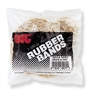 OIC Assorted Size Rubber Bands - 1 / Bag - Natural
