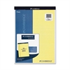 "Legal Pad - 70 Sheets - Printed - 20 lb Basis Weight - Letter 8.50"" x 11"" - Canary Paper - 1Each"