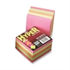 "Pacon Array Hyper Memo Cube - 500 x Assorted - 3.50"" x 3.50"" - Square - Unruled - Assorted - 1 / Pack"